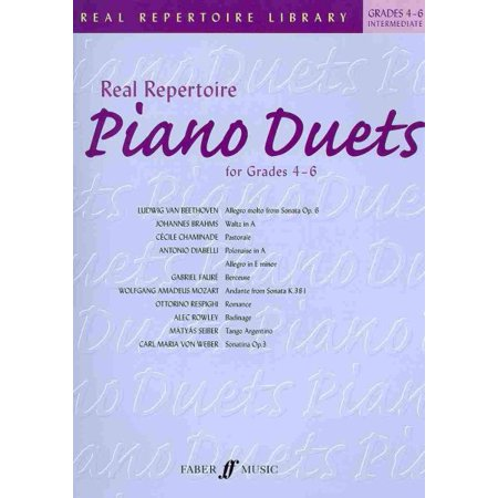 Real Repertoire Piano Duets : Grades 4-6 / Early Intermediate to Late Intermediate (Halloween Piano Music Intermediate)
