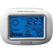 Sentry Big Screen Weather Alarm Clock