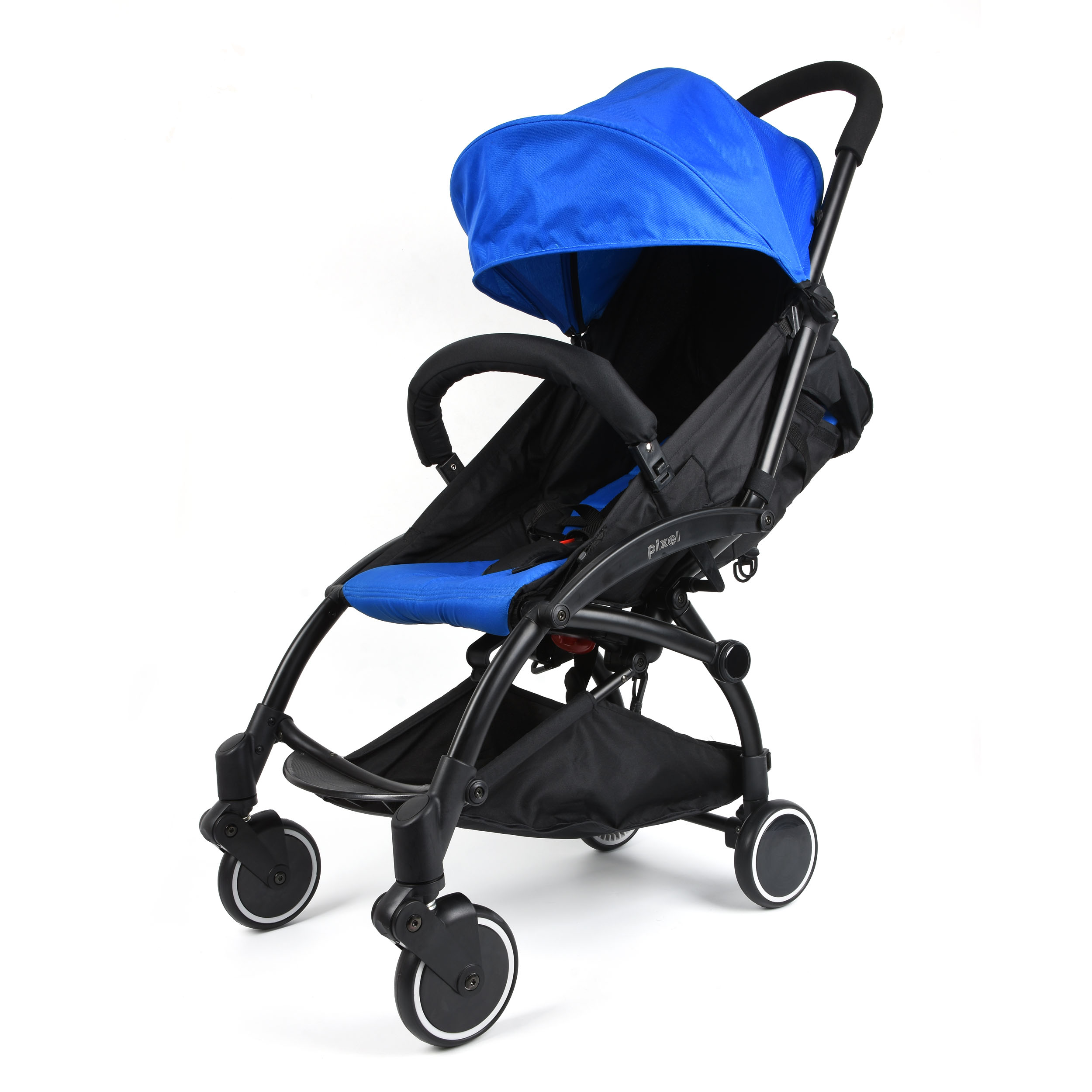 Wonder Buggy Pixel Portable Pocket Style Compact Light Weight Stroller Royal Blue by Wonder Buggy