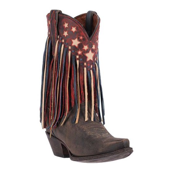Dan Post Boots Liberty Fringe Cowgirl Boot DP3531 (Women's) KQNjIrgQ