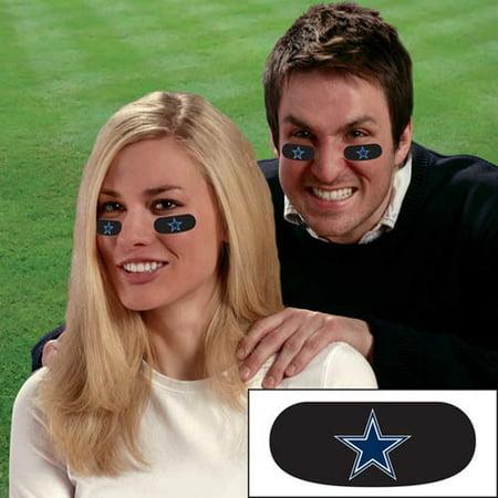 Party Animal Stick-On Eye Black Strips - NFL Dalla](Football Eye Black)
