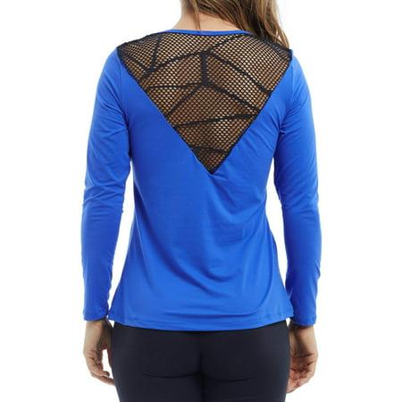 Bally Total Fitness Women's Active Stronger Long Sleeve T-Shirt