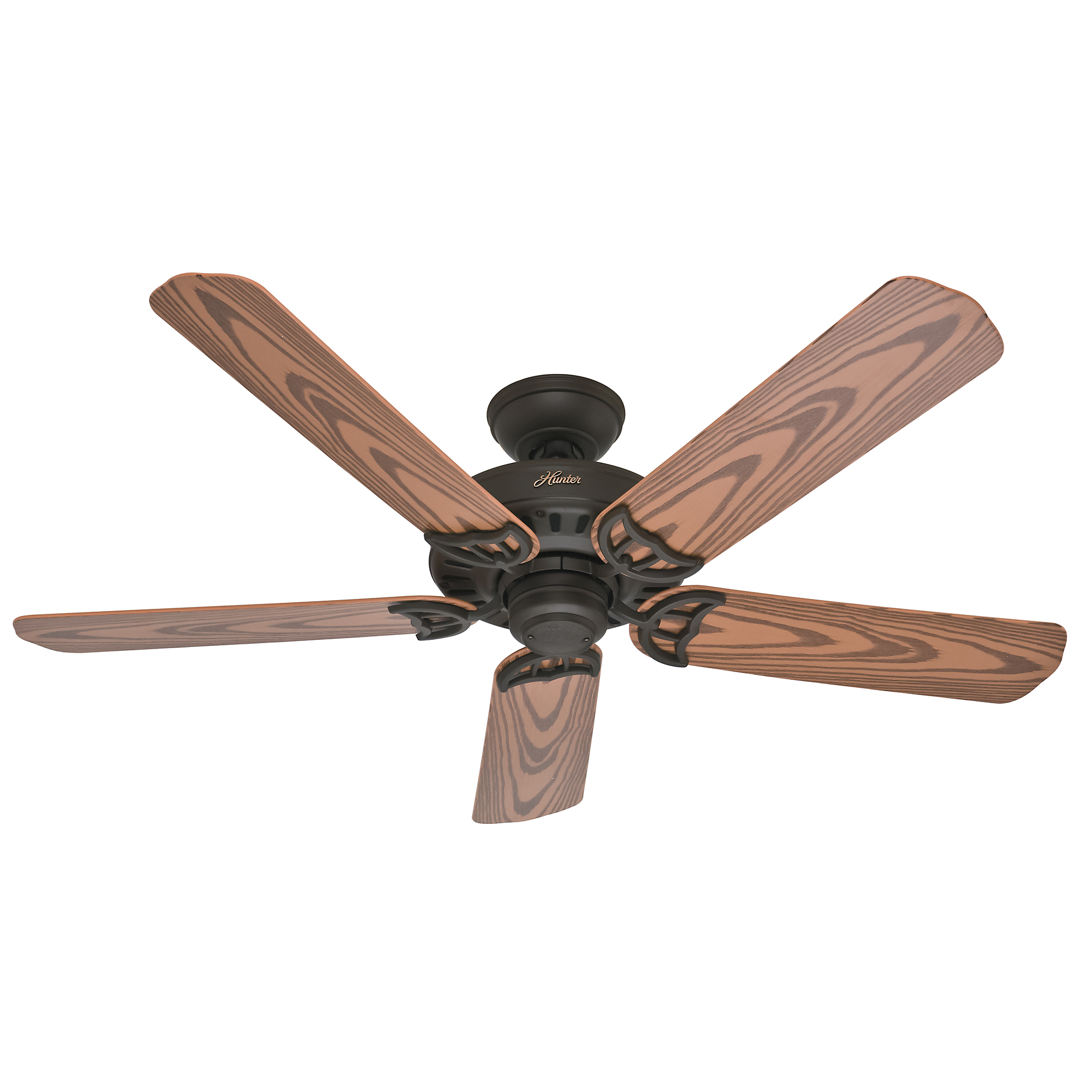 "Hunter 53126 52"" Bronze Bridgeport™ Ceiling Fan"