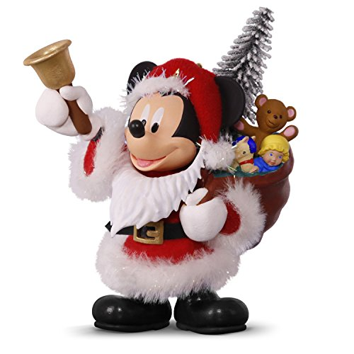 Hallmark 2495QXD6145 Disney Mickey Mouse Santa Keepsake Christmas Ornaments