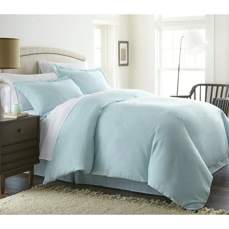 Noble Linens Premium Ultra Soft 3 Piece Solid Duvet Cover Set Blue Striped Duvet Cover