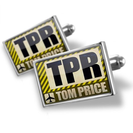 Cufflinks Airportcode Tpr Tom Price   Neonblond