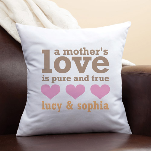 Personalized A Mother's Love Pillow