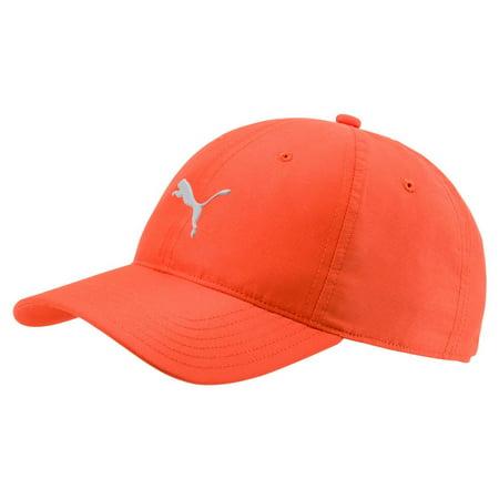wholesale dealer 5ea96 49fcd NEW Puma Performance Pounce Vibrant Orange Adjustable Golf Hat Cap -  Walmart.com