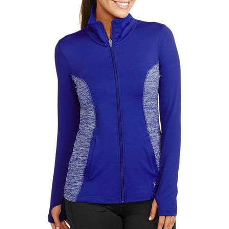 fb15c4ee878 Danskin Now - Women s Active Performance Jacket - Walmart.com