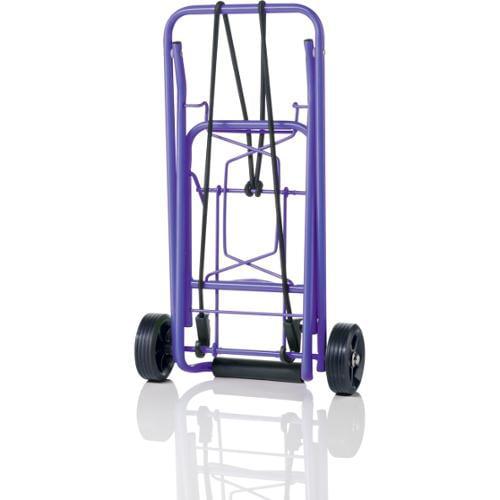 Conair Travel Smart TS36 Folding Luggage Cart w/ 75 lb Capacity - Purple
