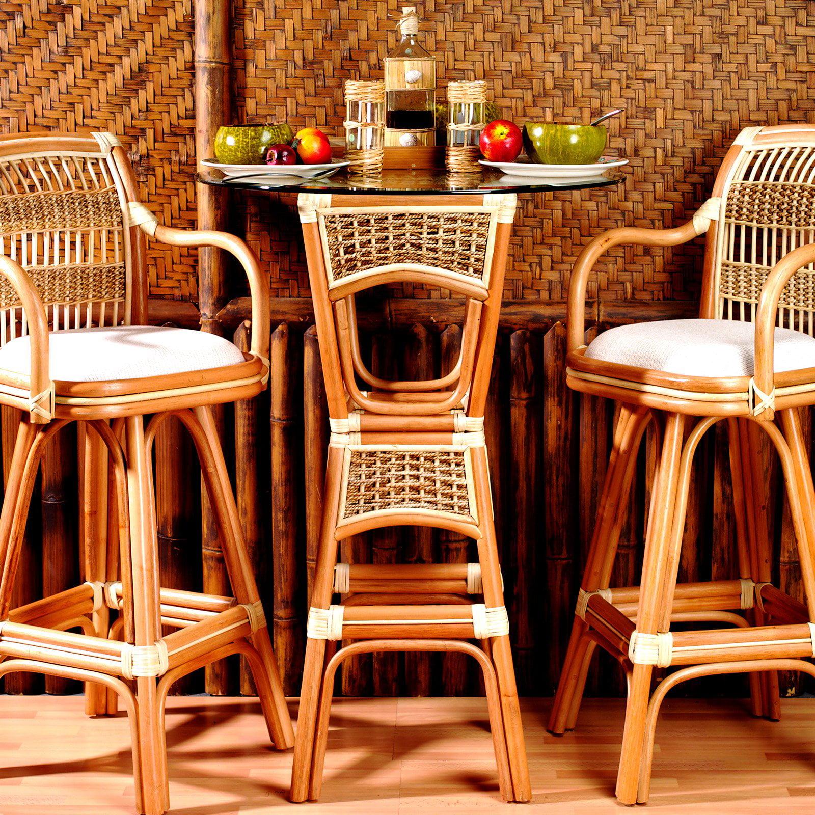 Spice Island Wicker Bar Table