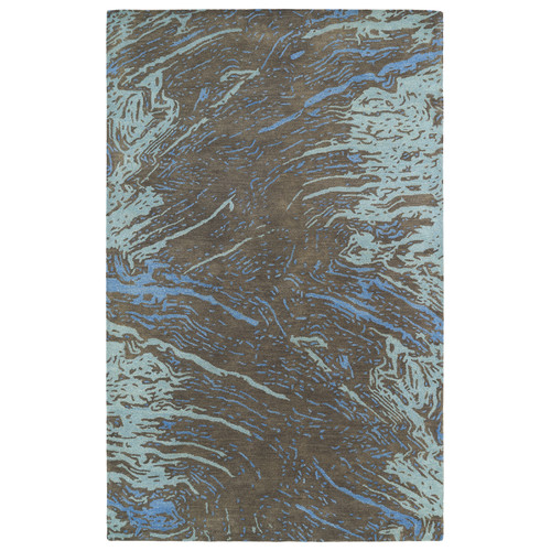 Kaleen Brushstrokes Chocolate Area Rug