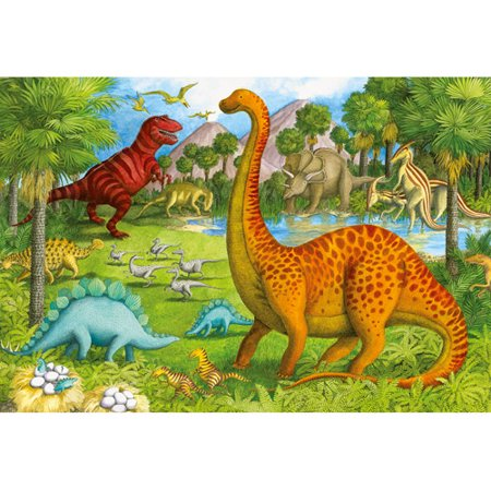 Ravensburger Dinosaur Pals Super-Sized Floor Puzzle, 24 Pieces