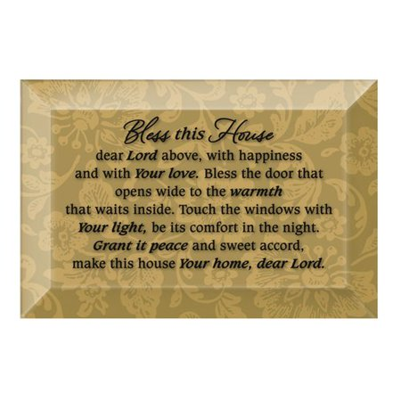 (Dexsa Simple Expressions ''Bless This House'' Textual Art Plaque)