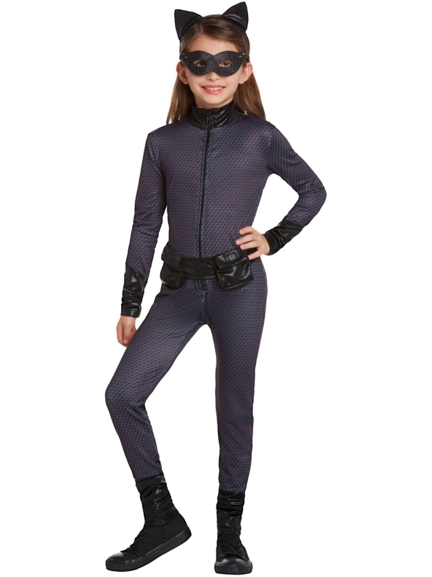 Medium Rubies Girls Batwoman Costume Jumpsuit and Mask