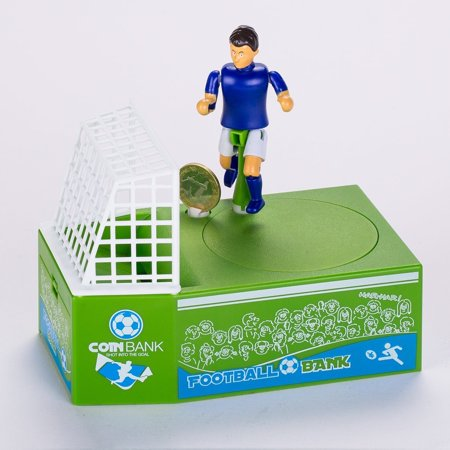 Soccer Shooting Coin Bank Football Bank Money Saving Bank Piggy Bank Kids Gift