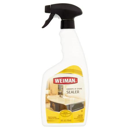 Weiman Granite Amp Stone Sealer 24 Fl Oz Walmart Com