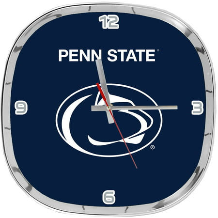Penn State Chrome Clock- Psu Nittany Lions