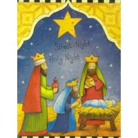 Trimmerry Silent Night Holy Night Christian Christmas Cards Wisemen & Jesus