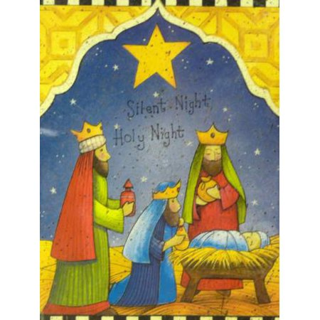 trimmerry silent night holy night christian christmas cards wisemen jesus - Jesus Christmas Cards