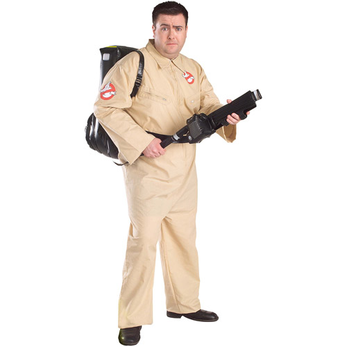 Ghostbuster Adult Halloween Costume - One Size