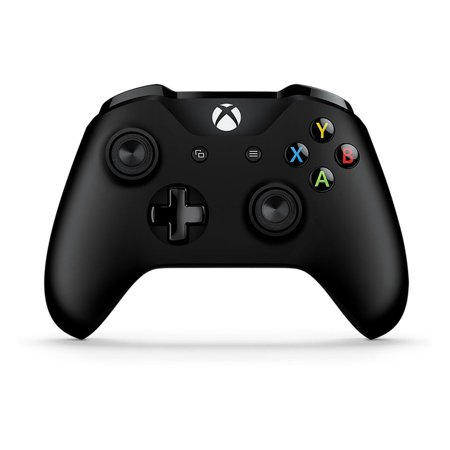 Microsoft Xbox One Wireless Controller, Black, EX6-00001