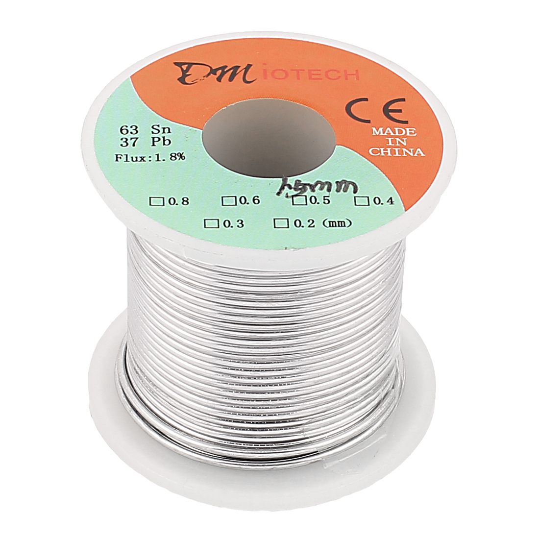 Unique Bargains 1.5mm 200G 63/37 Rosin Core Flux 1.8% Tin  Roll Solder Wire