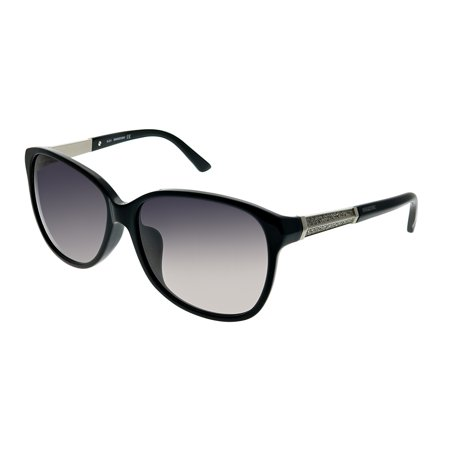 Swarovski Evelina SK 0083 01B 60mm Womens  Rectangle (Swarovski Sunglasses)