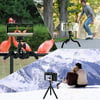 Phone Tripod,Candywe Cell Phone Tripod Flexible Tripod with Bluetooth Remote Shutter,Mini Tripod for iPhone Android Phone Camera GoPro,Smartphone Tripod Mount Stand with Carry Pouch-1PACK