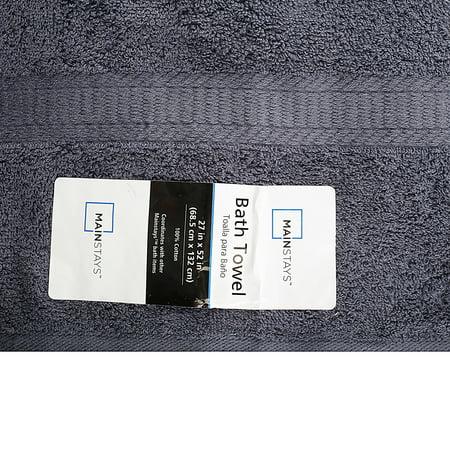 Mainstays Bath Towel Navy