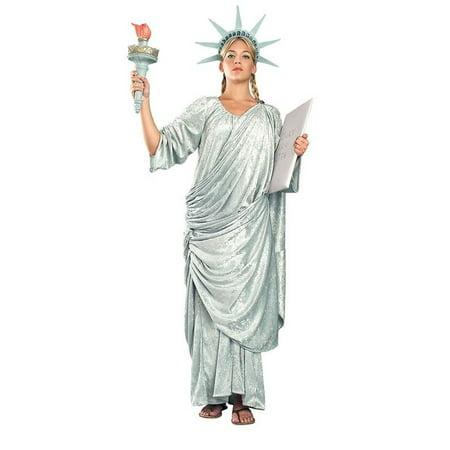 Women's Miss Liberty Costume (Womens Statue Of Liberty Costume)