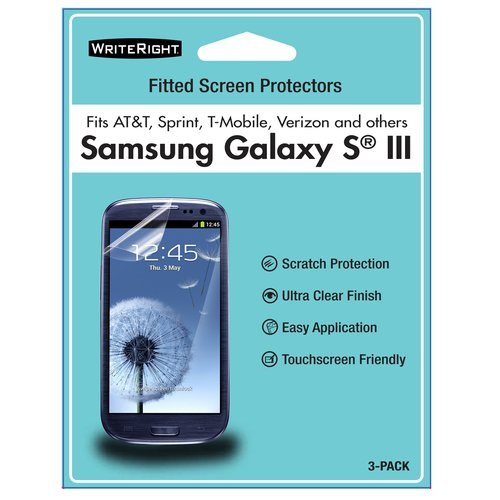 Fellowes WriteRight Screen Protectors Galaxy S III