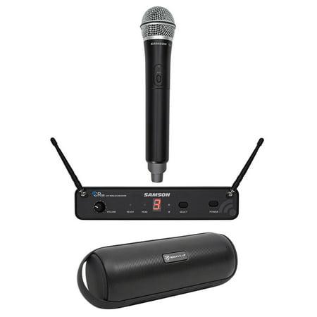 SAMSON Concert 88 Wireless Handheld 16-Channel UHF Microphone Mic+Free Speaker (Concert Speakers)