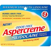Aspercreme Pain Relieving Crème with Lidocaine 2.7oz