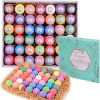 Bulk Bath Bomb Gift Set - 42 Bath Bombs for Kids, Women & Men! Ultra Lush Bath Bombs Perfect Gift Set for Women!