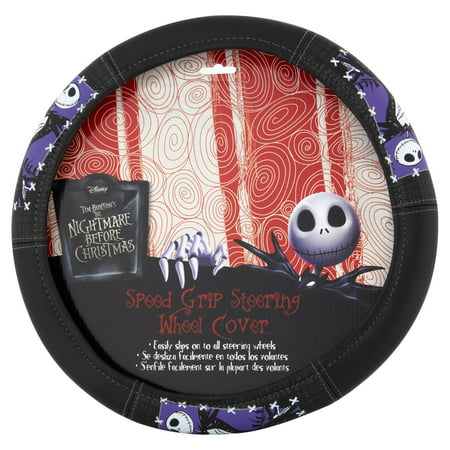 Nightmare Before Christmas Graveyard Steering Wheel Cover](The Nightmare Before Christmas Car Accessories)