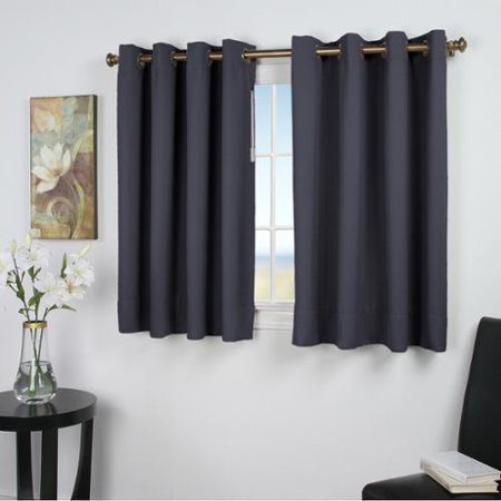 Ricardo ultimate blackout 45 inch length grommet curtain for 12 inch wide window blinds