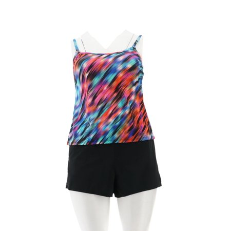 DreamShaper Miraclesuit Farrah Romper Swimsuit A303927 (Miraclesuit Wrap)