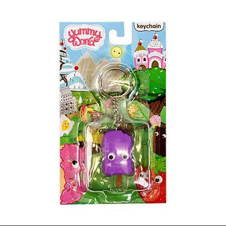 Yummy World Pudding Pop Keychain [Purple]