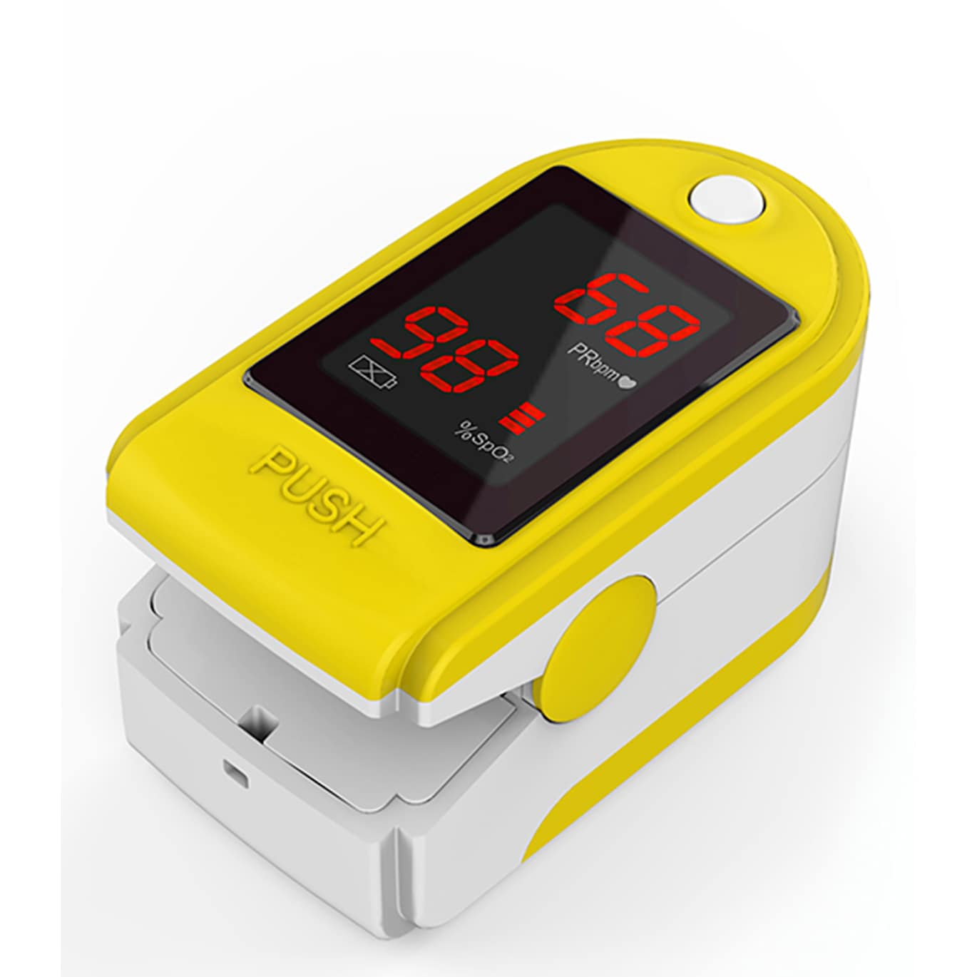 Concord Health Supply Concord Basics Yellow Finger Pulse Oximeter