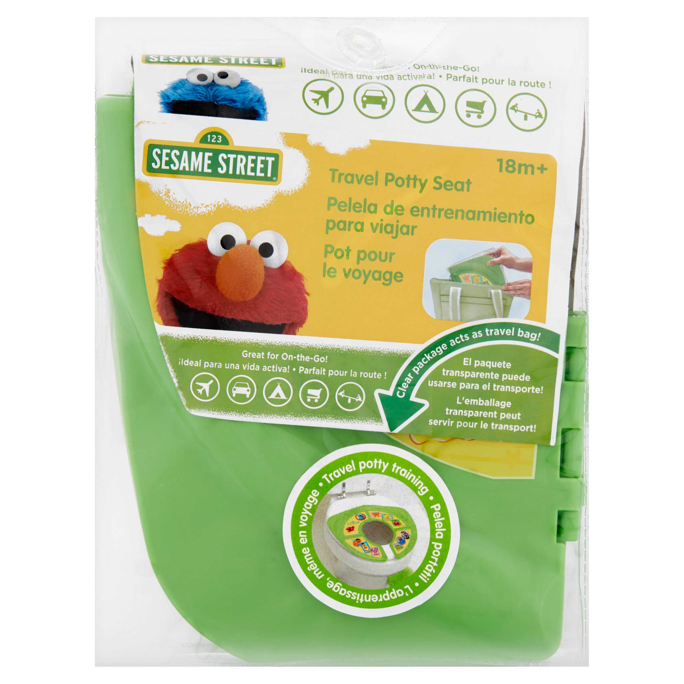 Sesame Street Travel Potty Seat 18m+