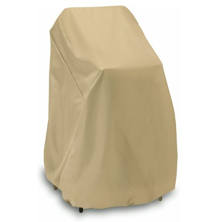 Image of Two Dogs Designs 2D-PF40365 48 in. High Chair / Stack Chair Cover - Khaki