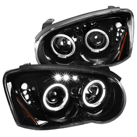 - Spec-D Tuning 2004-2005 Subaru Impreza Wrx Outback Led Jet Black Projector Headlights 04 05