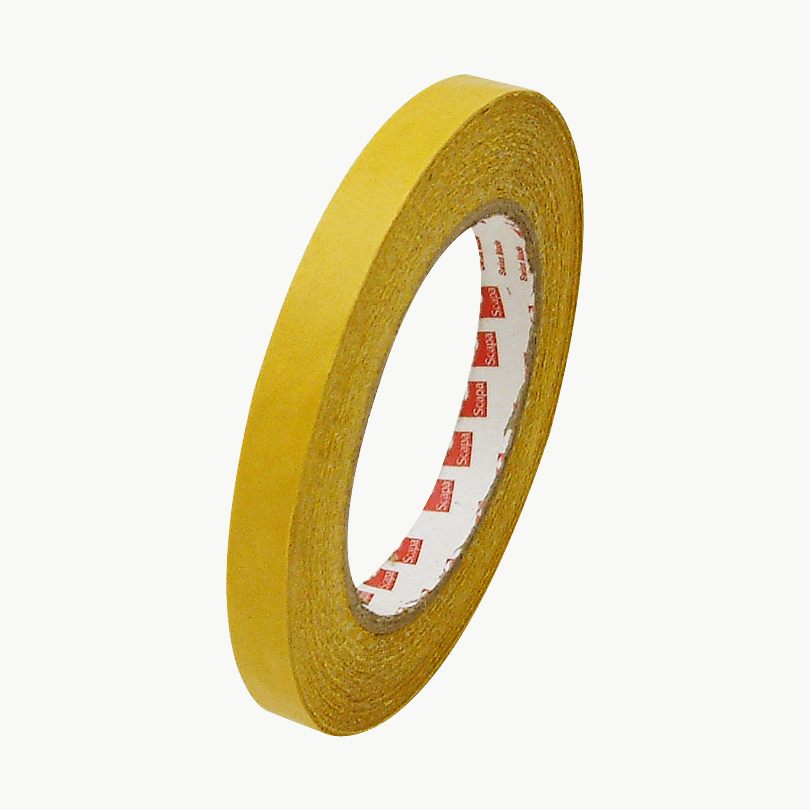 Scapa 4450 Adhesive Transfer Tape: 1/2 in. x 60 yds. (Clear Adhesive on Gold Liner)