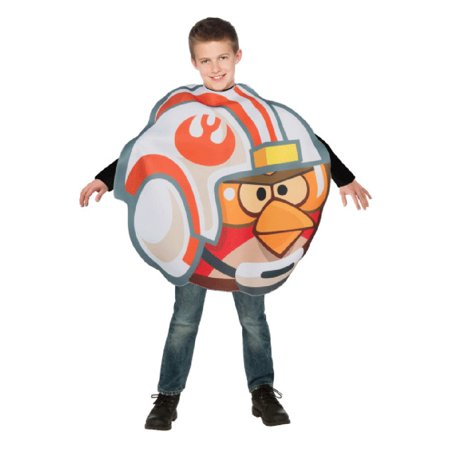 Luke Skywalker Halloween Costume Child (Child Angry Birds Star Wars Luke Skywalker X-Pilot)