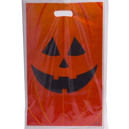 Jack O Lantern Trick Or Treat Bags (Minecraft Trick Or Treat Bag)