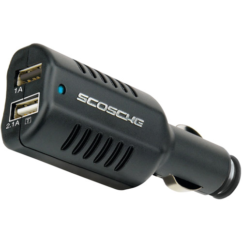 Scosche reVIVE II - Dual USB Car Charger for Samsung Galaxy Tablet (GUSBC3)