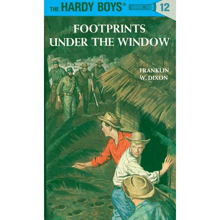 Hardy Boys 12: Footprints Under the Window - Presents For 12 Year Old Boy