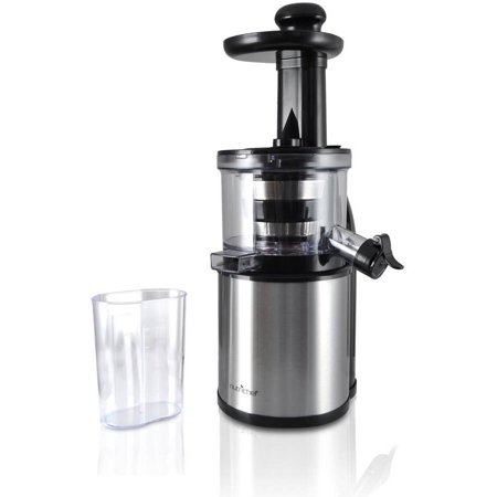 Countertop Juicer : NutriChef PKSJ30 Kitchen Countertop Slow Juicer - Walmart.com