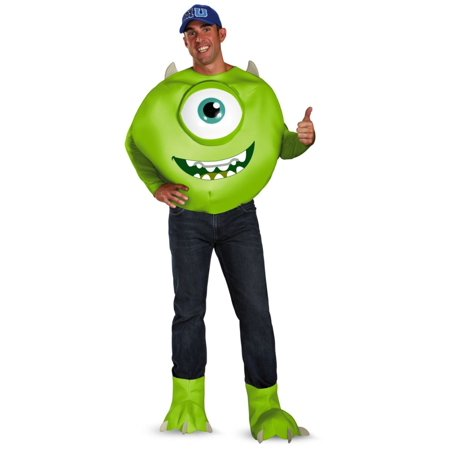 Mike Wazowski Costume For Adults (Monsters University Mike Disney Men Costume)